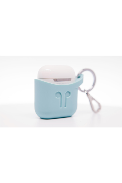 PodPocket Silicone Case for AirPod - Aqua Blue (PP-1006) - www.emarketkw.com