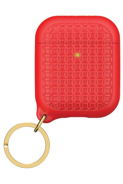 Catalyst Keyring Case for Apple AirPods Flame Red