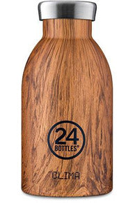 24bottles Clima 330ML Sequoia Wood - www.emarketkw.com