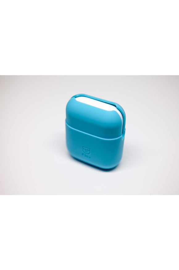 PodPocket Flex Silicone Case for AirPod - Coral Blue