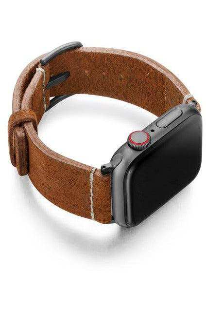Meridio Heritage - Cordwood Leather Strap 44mm