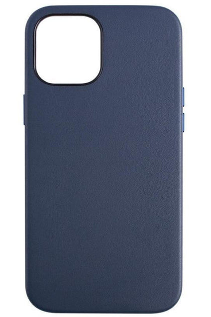 Jcpal Iphone 12 Pro Max Moda case Leather Style slim shell - MidNightBlue
