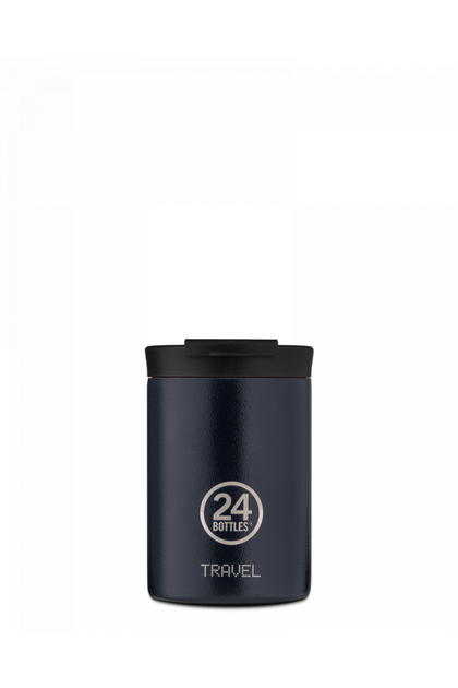 Alpha Cafe X Travel Tumbler 350ML Deep Blue