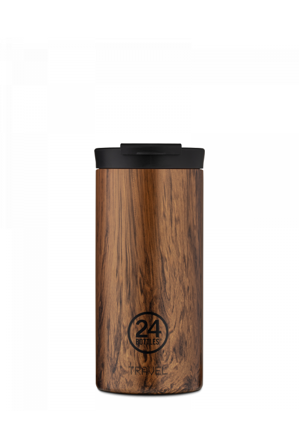 24bottles Travel Tumbler 600ML Sequoia Wood