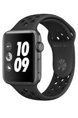 Apple Watch Nike+ Series 3 (GPS) 42mm Space Gray Aluminum Case with Anthracite/Black Nike Sport Band