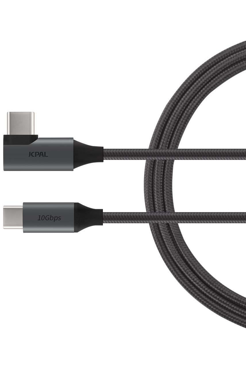 JCPal FlexLink USB-C 3.1 Gen2 Cable(1.5m/5ft) - Black (JCP6155) - www.emarketkw.com