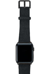 Meridio Heritage - Forest Black Leather Strap 44mm