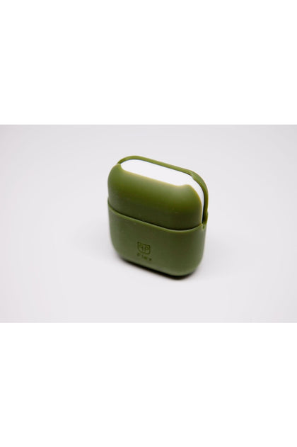 PodPocket Flex Silicone Case for AirPod - Military Green - www.emarketkw.com