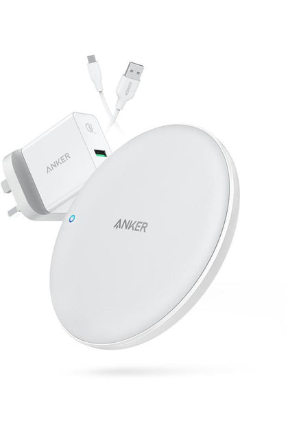 Anker PowerWave 7.5W Pad Wireless Charger-White