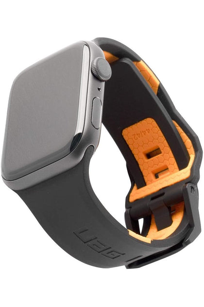 UAG Apple Watch 44mm/42mm Civilian Strap- Black/Orange