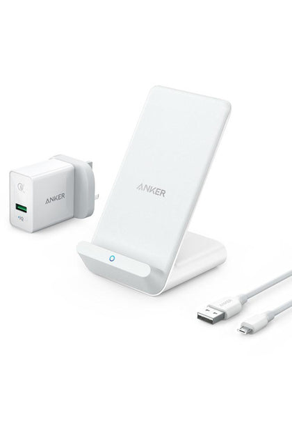 Anker PowerWave 7.5W Stand Wireless Charger-White