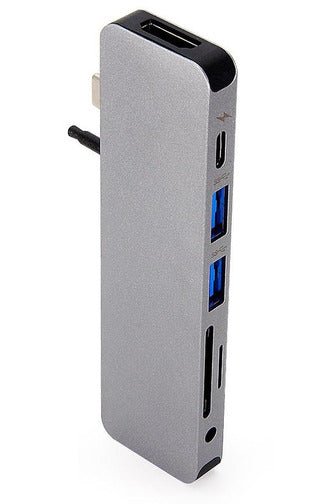 HyperDrive SOLO 7-in-1 USB-C Hub for MacBook, PC, Chromebook, Android - Space Gray (GN21D) - www.emarketkw.com