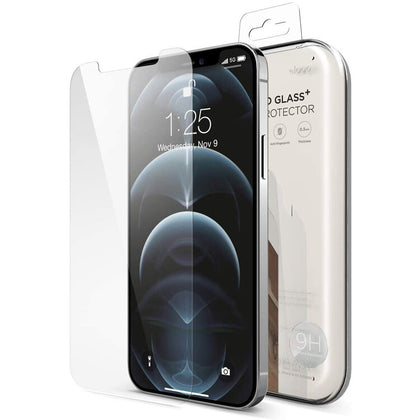 Elago iPhone 12 Pro Max Tempered Glass + Screen Protector