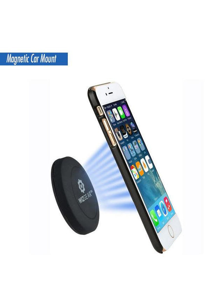 WizGear Magnetic Flat stick On Car Mount (Flat-Stick-On-180)