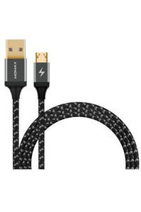 MOMAX GO Link Micro USB to USB Cable (1.2m) Black (DDM11D) - www.emarketkw.com