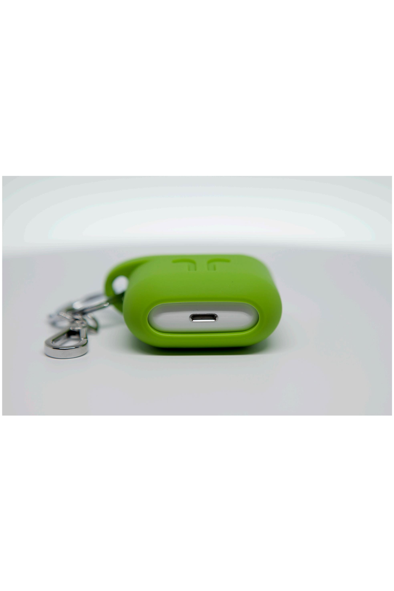 PodPocket Silicone Case for AirPod - Pear Green - www.emarketkw.com