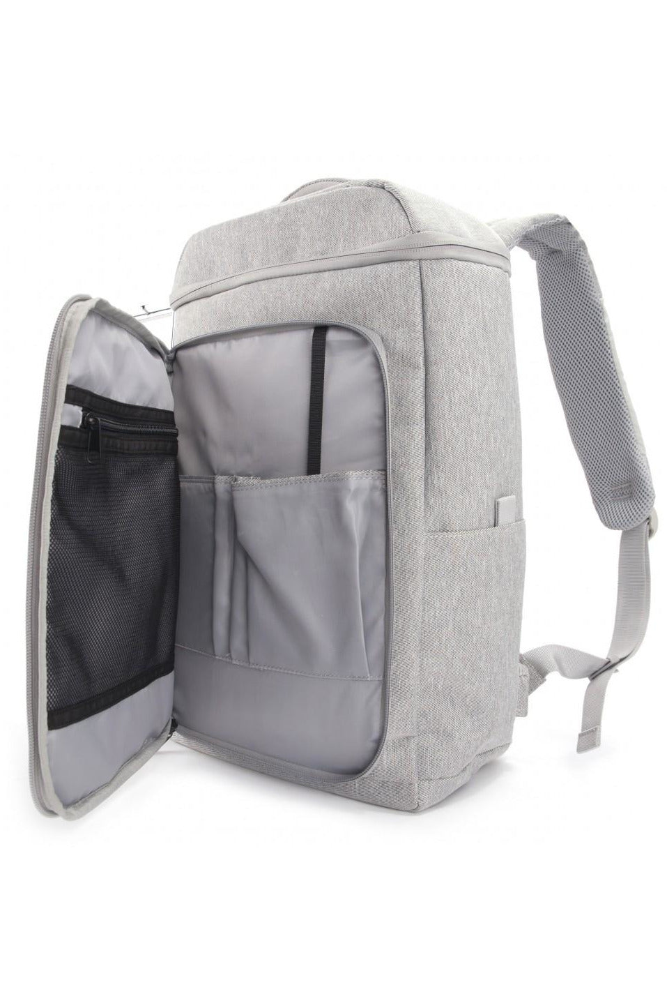 Philo Smart Backpack for 15-InchLaptop, Integrated USB Charging Port - Light Grey - www.emarketkw.com