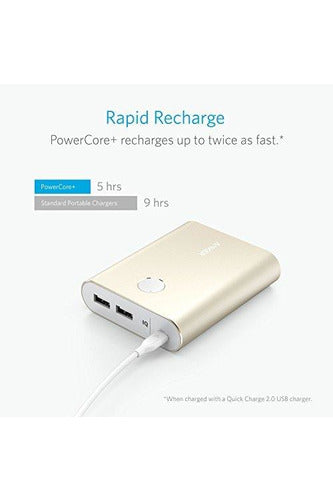 Anker PowerCore+ 13400 QC3.0 (Output Only) - Gold (A1316HB1) - www.emarketkw.com