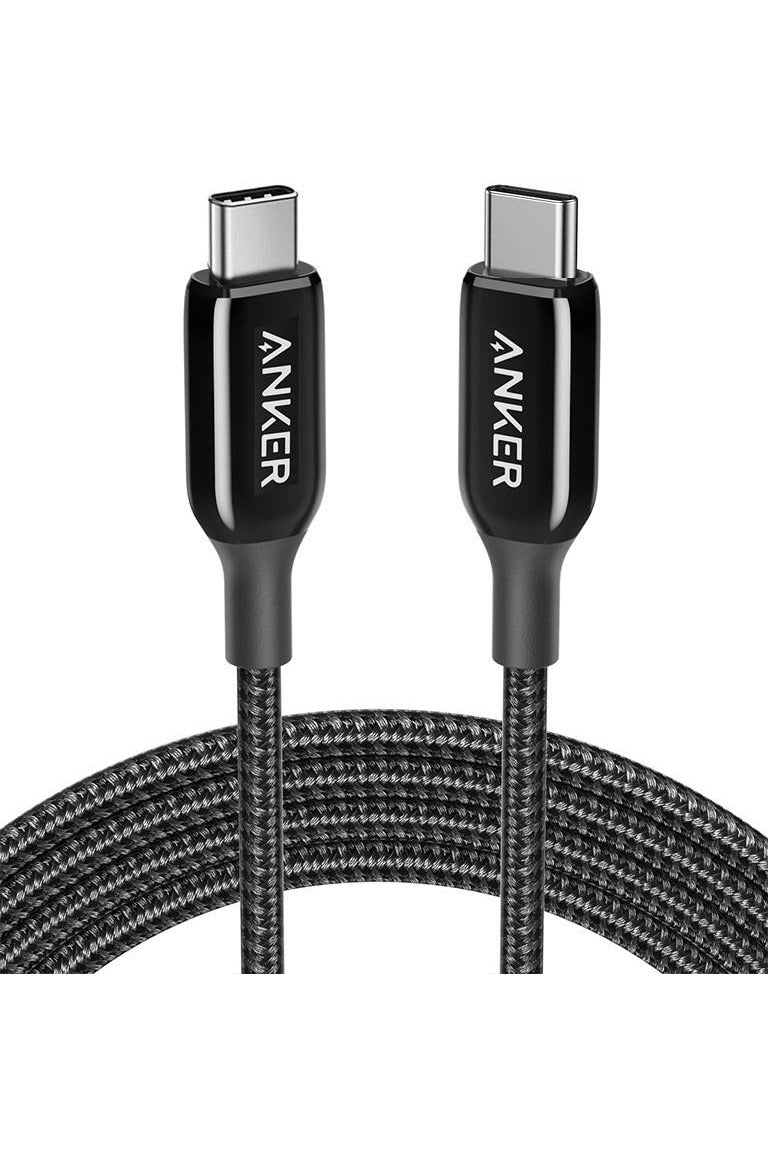 Anker PowerLine + III USB-C To USB-C (1.8m/6ft) - Black