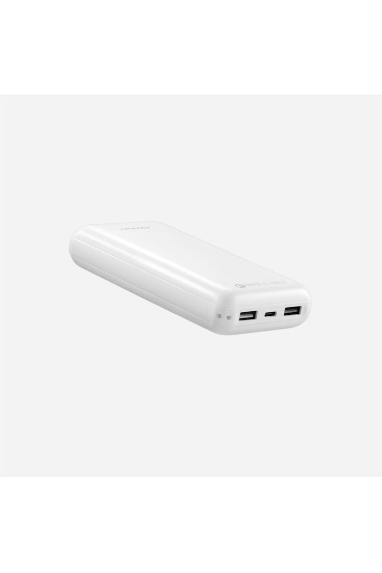 Momax Ipower PD3 External Battery Pack 20000 Ah Type-C Cable White (VPD0034) - www.emarketkw.com
