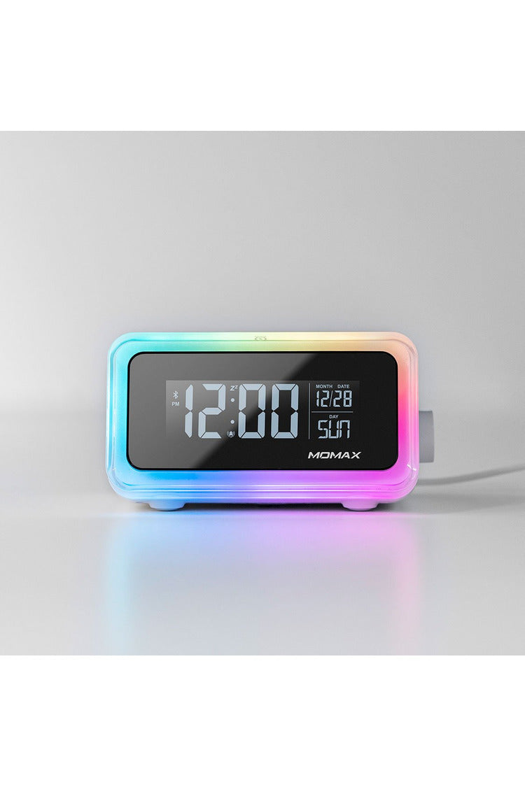 Momax - Q.Clock2 Digital clock with wireless charger