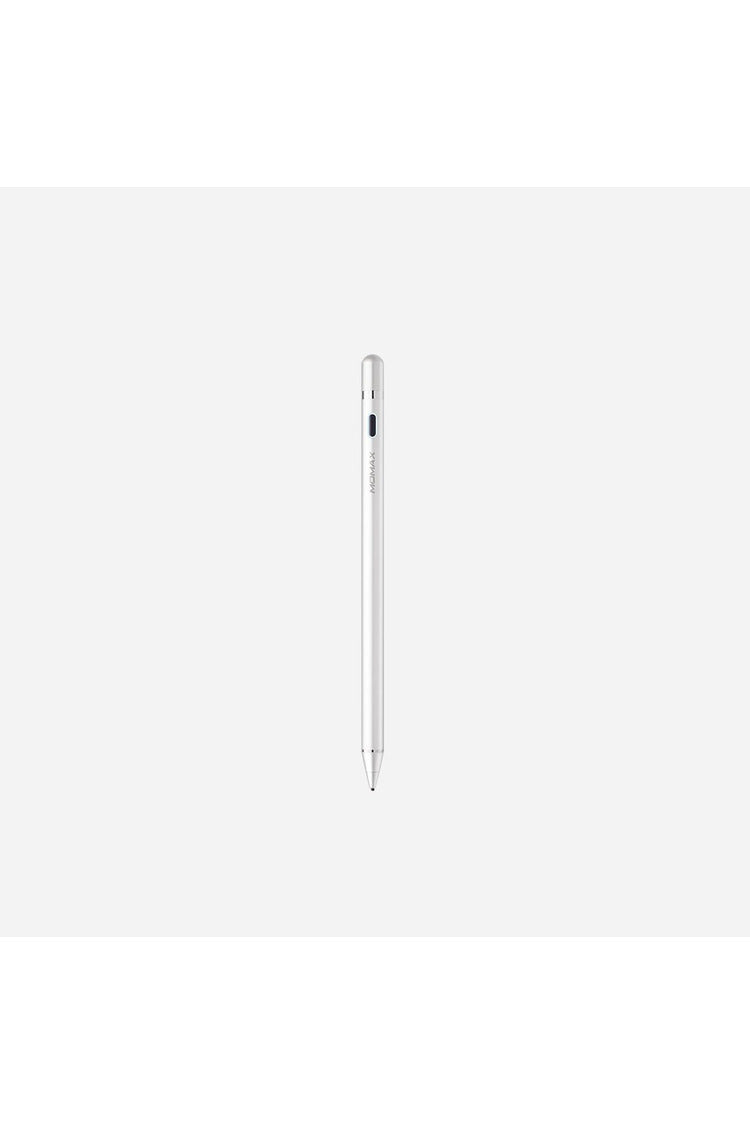 Momax OneLink Active Stylus Pen - Silver (TP1S) - www.emarketkw.com