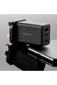 MOMAX ONE Plug 65W 3-port GaN Charger