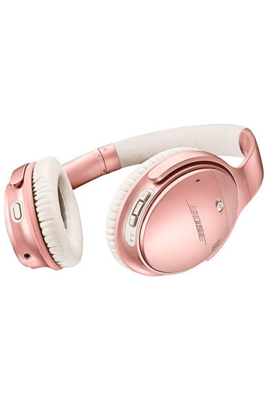 Bose QuietComfort 35 Series II Wireless Over-Ear Headphone, Noise Cancelling - Rose Gold (789564-0050)