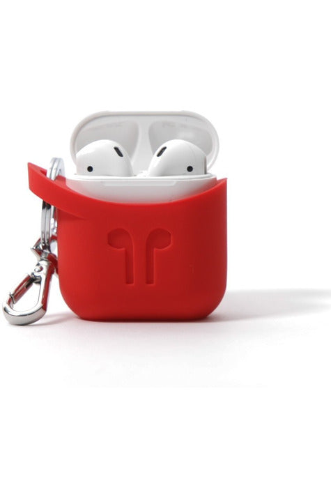 PodPocket Silicone Case for AirPod - Blazing Red