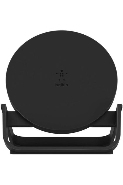Belkin 10W WIRELESS CHARGING STAND with PSU + MICRO USB CABLE - BLACK