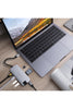 HyperDrive SLIM 8-in-1 USB-C Hub for Mac, PC, Android, USB-C Devices - Space Gray (HD247B) - www.emarketkw.com