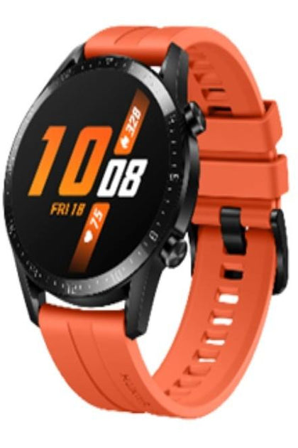 Huawei Watch GT 2 (46mm) Orange Fluoroelastomer Strap