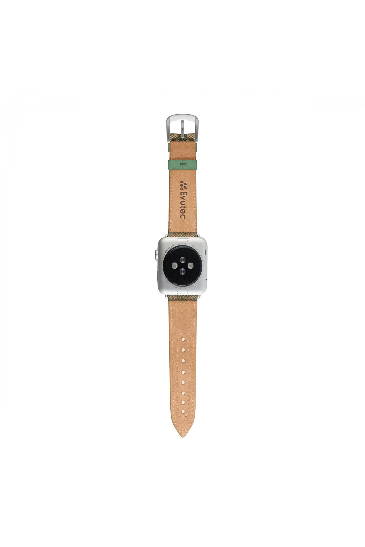 Evutec Northill Series Apple Watch Band 38MM & 40MM - Chroma/Sage (WB-A13-38-D10) - www.emarketkw.com