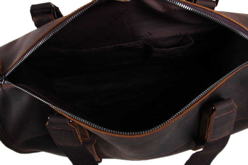 The Brussels Handmade Duffle Bag