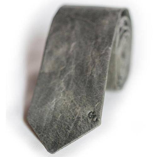 Concrete Leather Tie