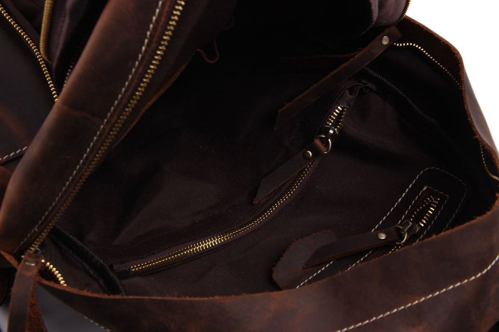 The San Diego Handmade Leather Backpack