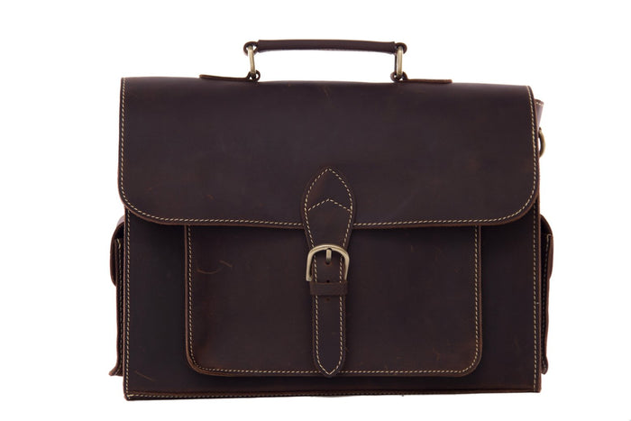 The Alexandria Handmade Briefcase