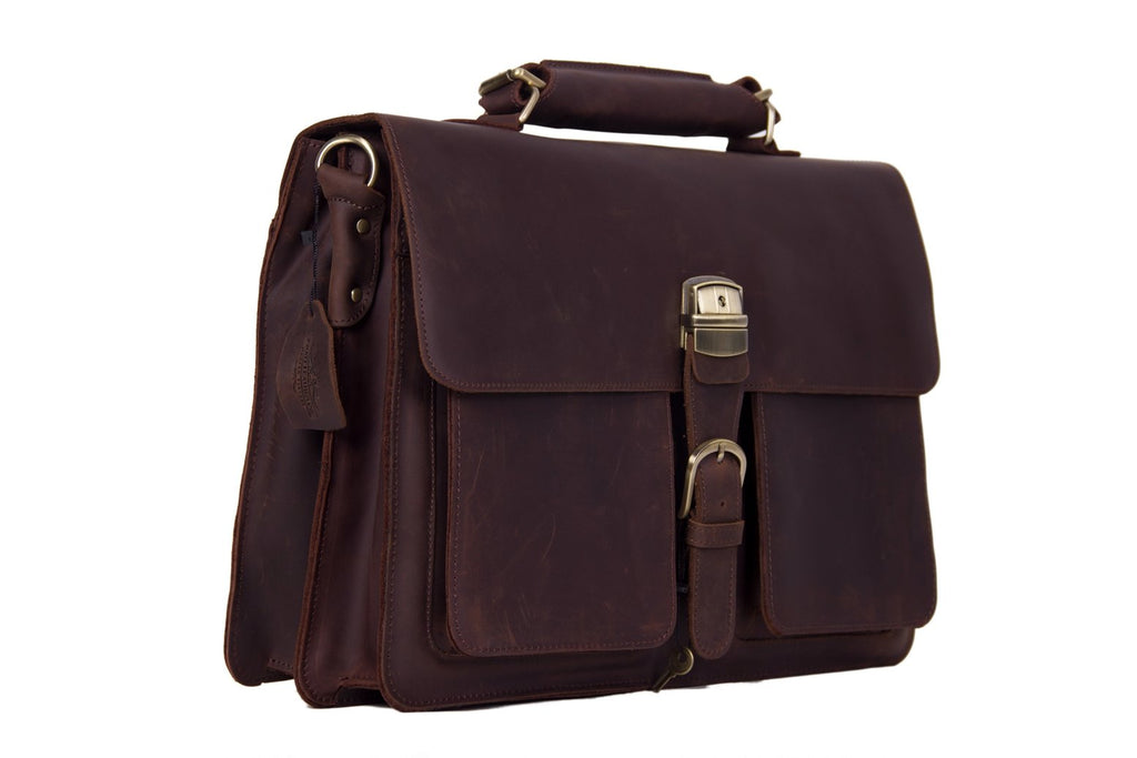 The Apia Handmade Briefcase