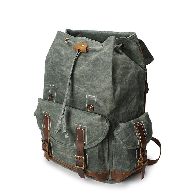 The Airborne Handmade Water Resistant Backpack