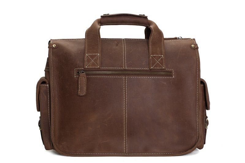 The Tripoli Handmade Briefcase