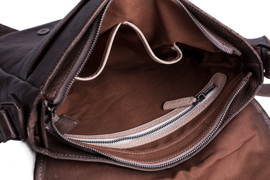 The Dublin Handmade Messenger Bag