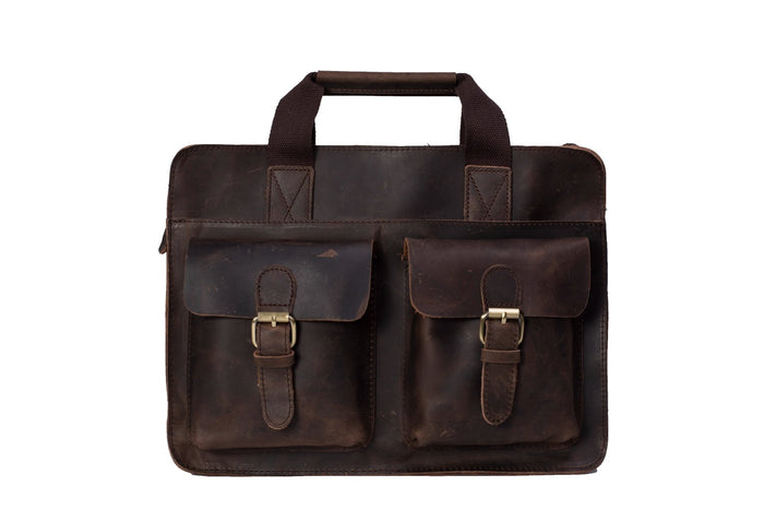 The Victoria Handmade Briefcase