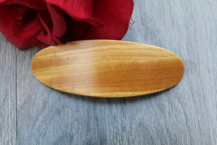 Hair Clip, Barrette, Wooden Barrette , gift for her,  Hair Barrette Hair Clip French Hair Clip Luxury