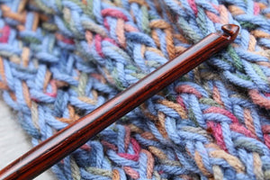 Handmade crochet hook, Crochet hook, Hand Turned wood Crochet Hook, Wood Crochet hook, size P