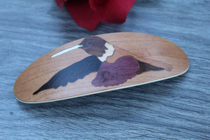 Hair Clip, Hummingbird Hair Barrette, France Clip Barrette, Women accessories, French Hair Clip, Luxury French Barrette Large