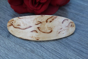 Hair Clip, wood Hair  Barrette, Luxury Wood Burl Mother's day gift Women Fashion Large Made in USA