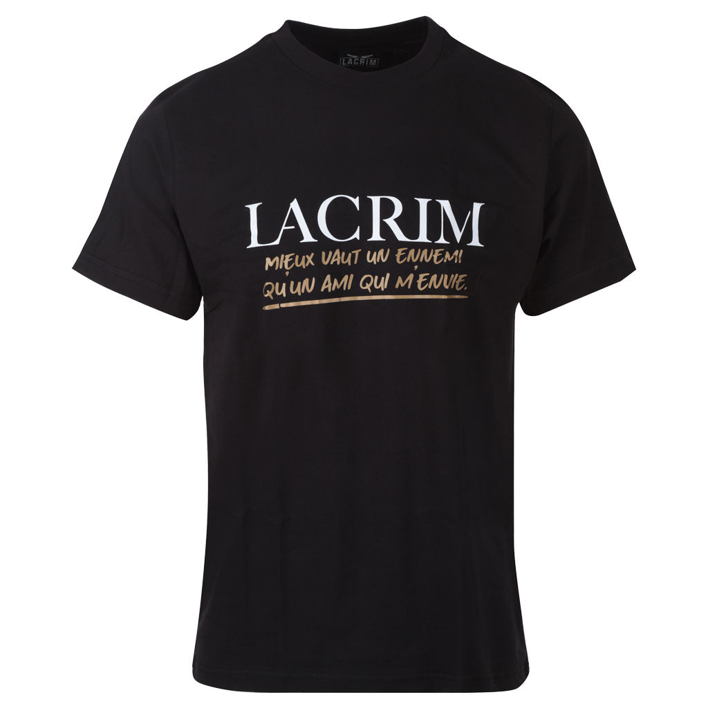 Tshirt noir Lacrim – Enemy Edition