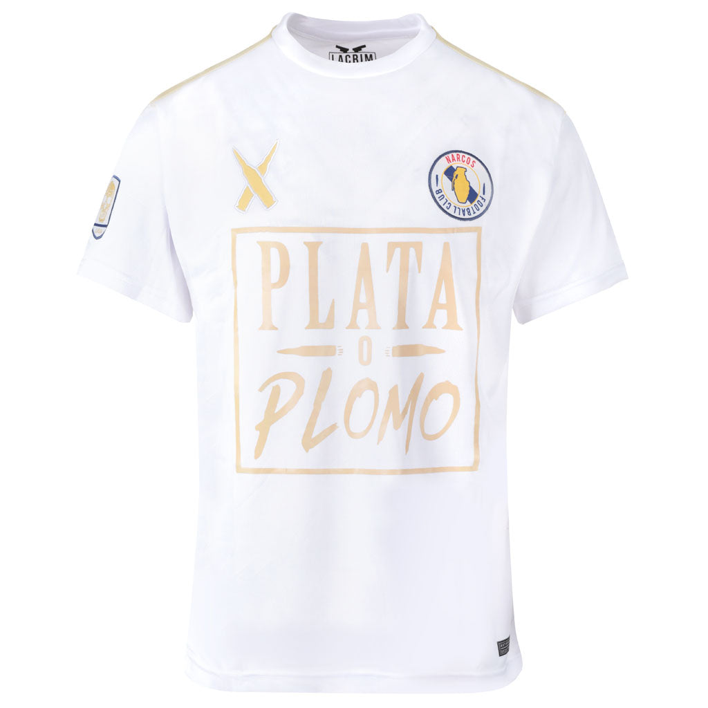 Maillot Plata o Plomo Madrid Edition Manches Courtes