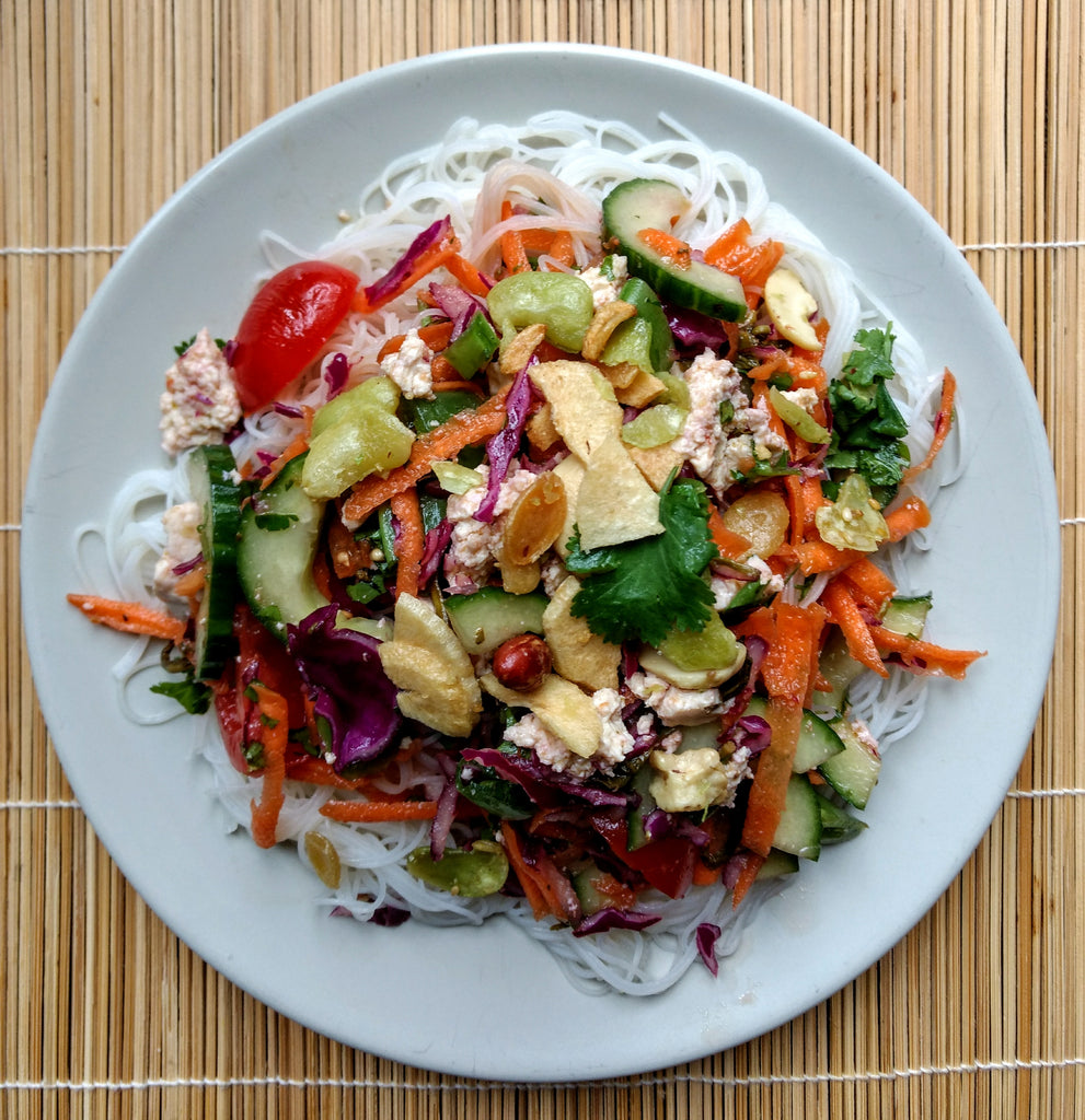 Lost Tea Rainbow Salad