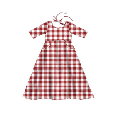 Red Gingham MAXI